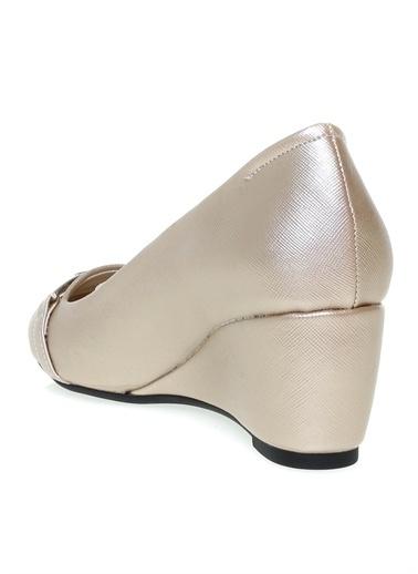 Pierre Cardin Pierre Cardin Altın Dolgu Topuk Ayakkabı Altın